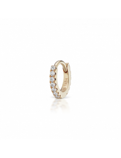 5mm DIAMOND ETERNITY RING  in Yellow Gold