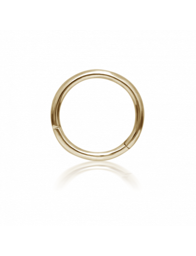 8mm PLAIN RING in Yellow Gold