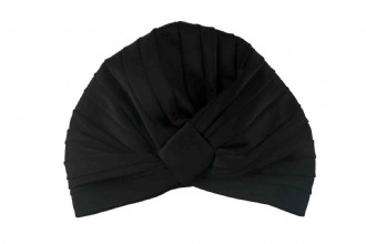 AMELIE SHOWER CAP - BLACK