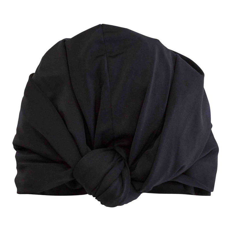DAHLIA SHOWER CAP - BLACK