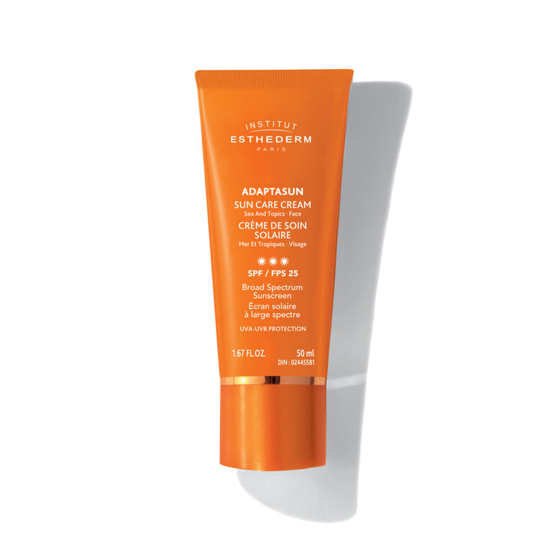 ADAPTASUN SUN CARE CREAM SEA AND TROPICS FACE SPF 25