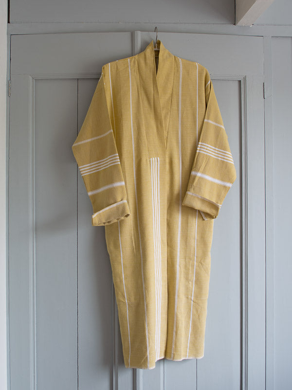 HAMMAM BATHROBE MUSTARD
