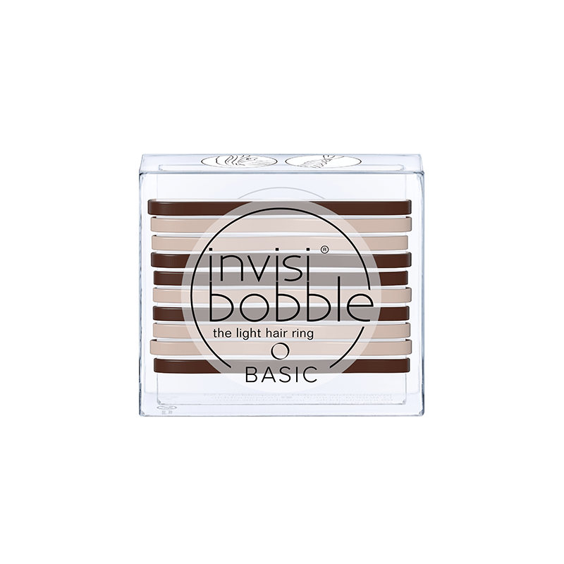Invisibobble® – Basic in Mocca and Cream