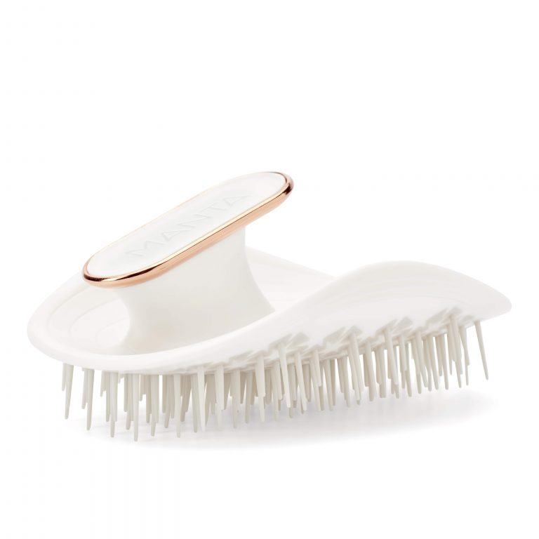 MANTA HAIR BRUSH - WHITE
