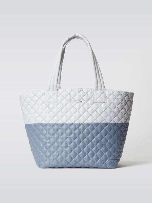 MEDIUM METRO TOTE MIST/COASTAL BLUE