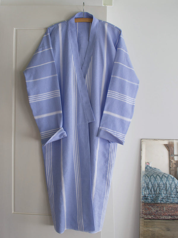 HAMMAM BATHROBE LAVENDER BLUE