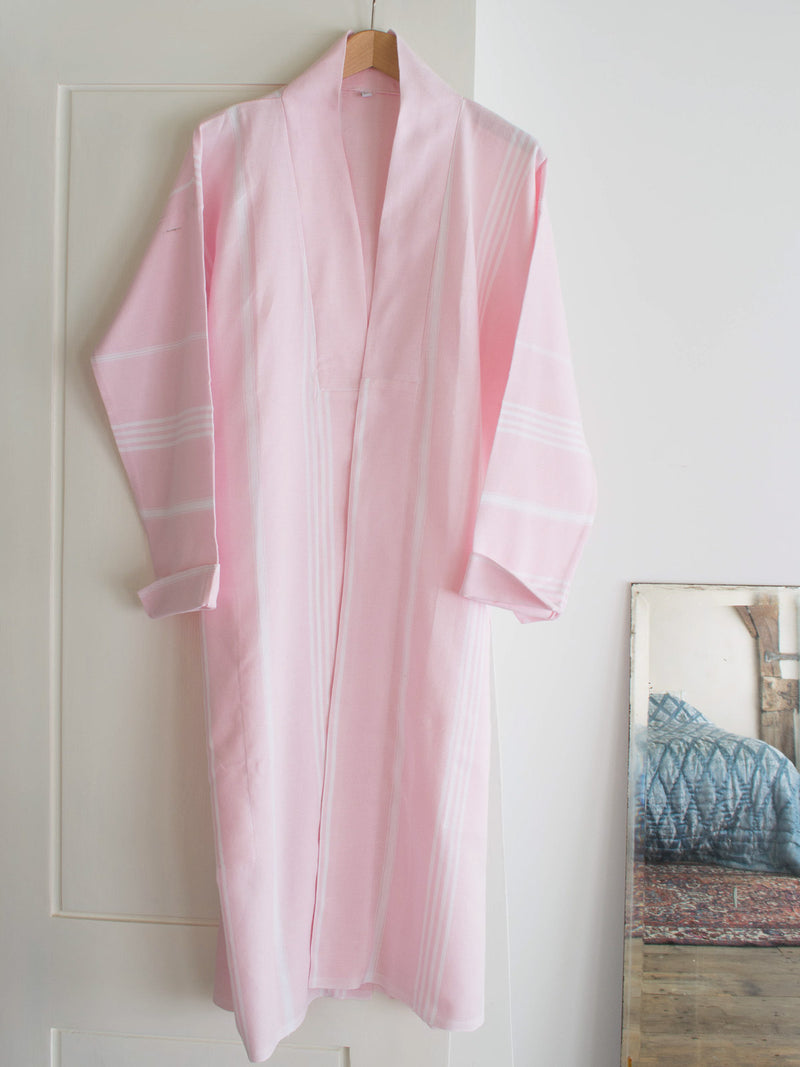 HAMMAM BATHROBE POWDER PINK