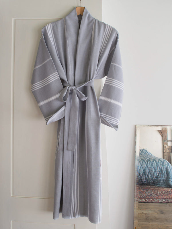 HAMMAM BATHROBE GREY