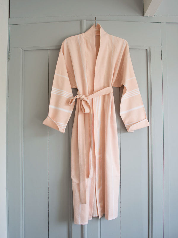 HAMMAM BATHROBE PEACH