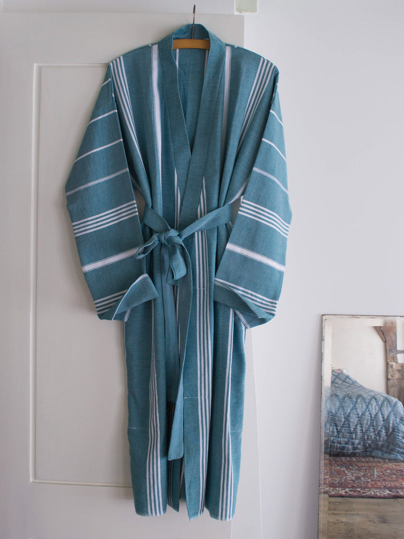 HAMMAM BATHROBE PETROL