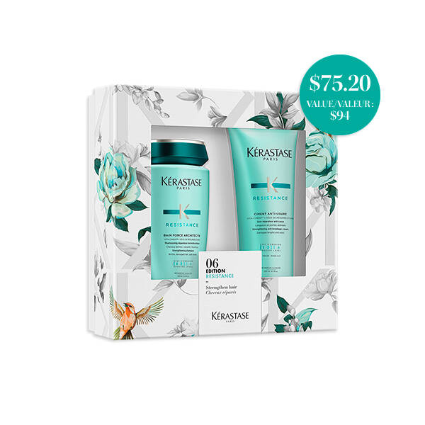 RESISTANCE SHAMPOO & CONDITIONER SPRING DUO