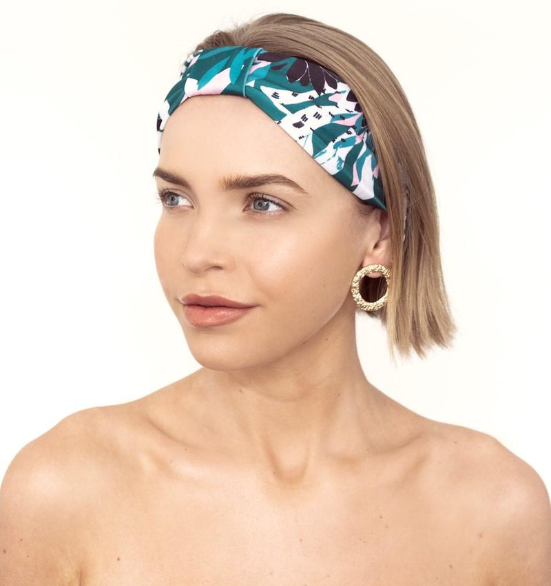 SERAPHINE HEADBAND - ALPINE FLOWERS