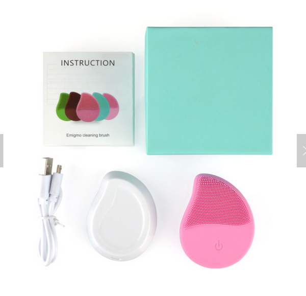 SILICONE CLEANSING BRUSH