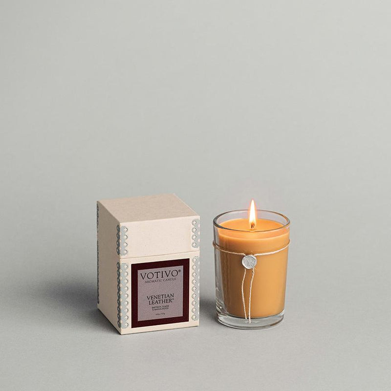 VENETIAN LEATHER CANDLE