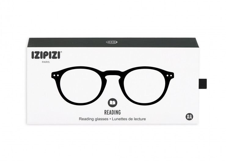 READING GLASSES #A BLACK