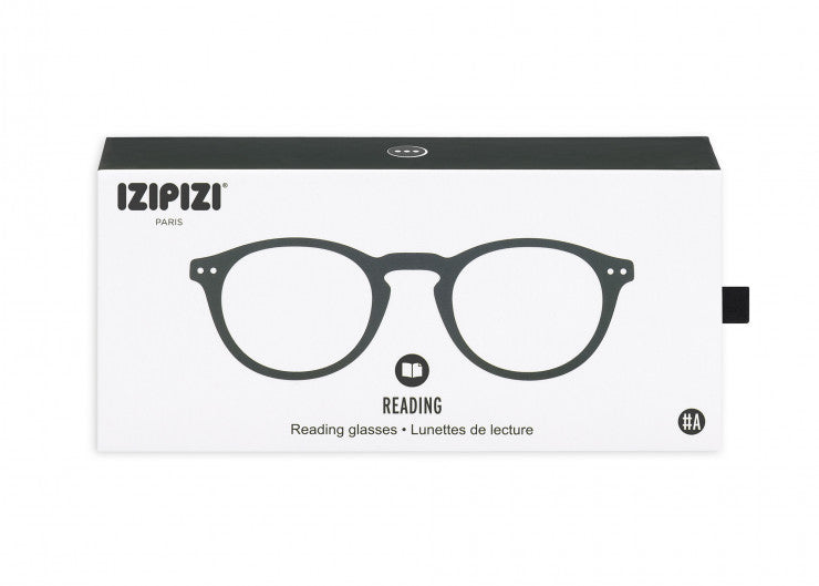 READING GLASSES #A GREY