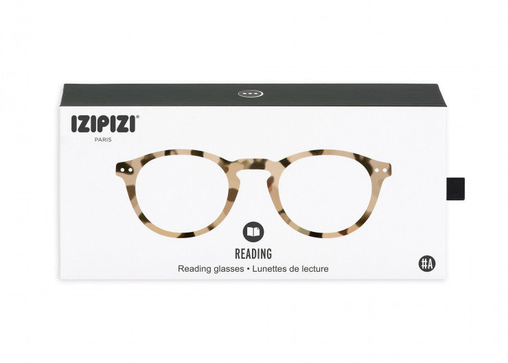 READING GLASSES #A LIGHT TORTOISE