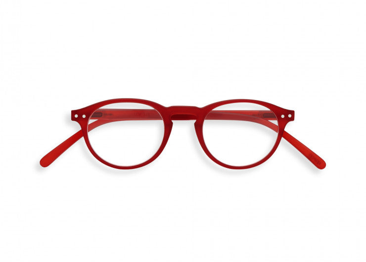 READING GLASSES #A RED CRYSTAL