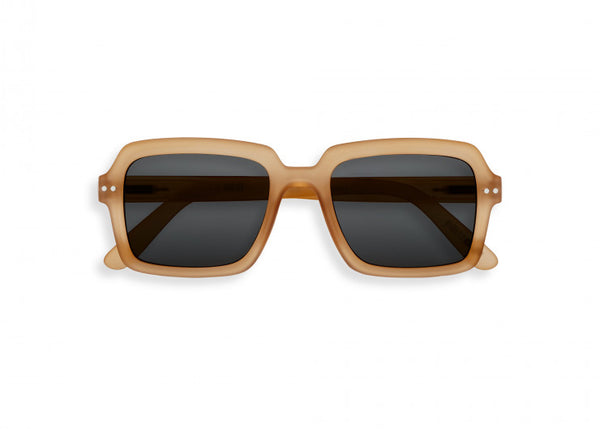 L'AMIRAL SUNGLASSES in SHELL BEIGE