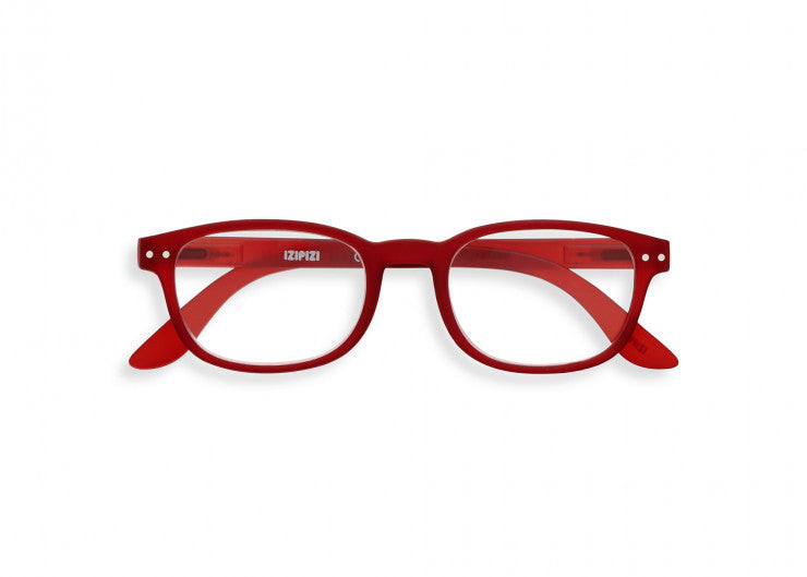 READING GLASSES #B RED CRYSTAL