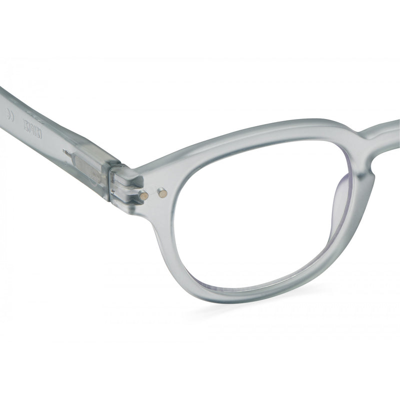 READING GLASSES #C FROSTED BLUE