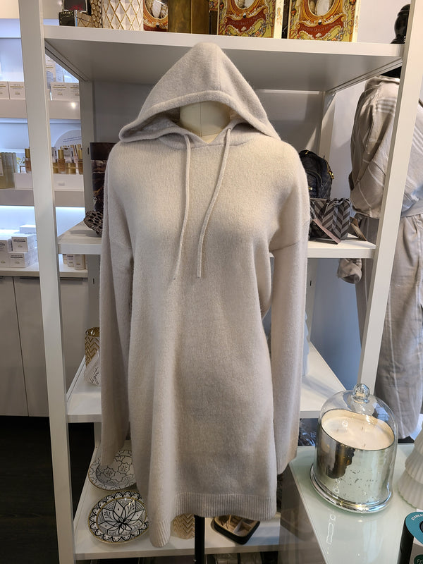 CALISTA CASHMERE SWEATER - OYSTER