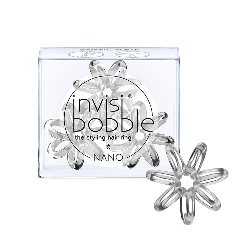 Invisibobble® – Nano in Crystal Clear