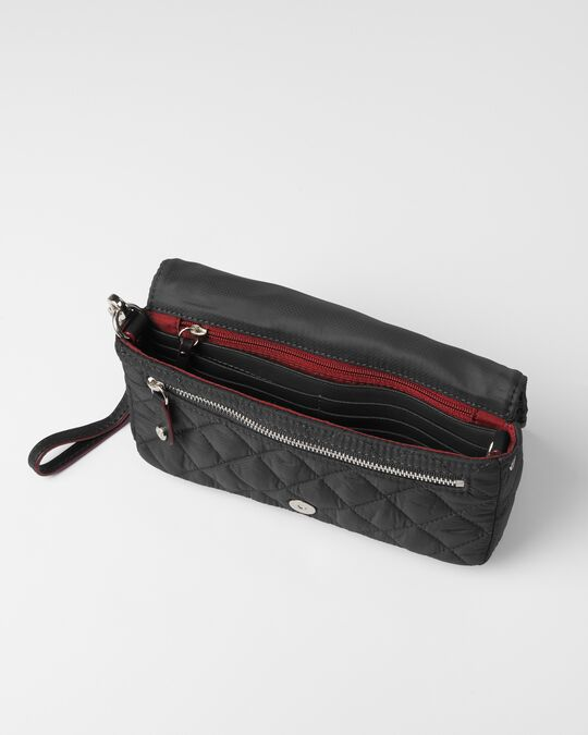 CROSBY CONVERTIBLE WRISTLET in Black