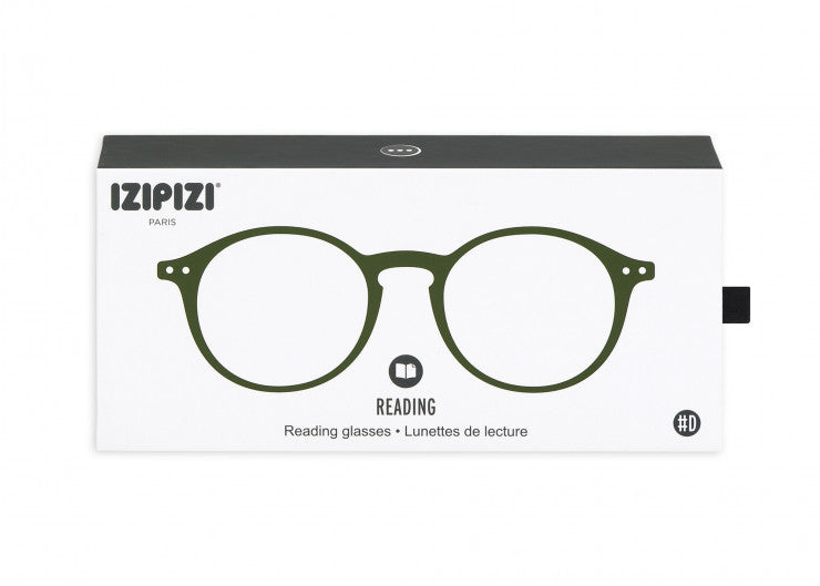 READING GLASSES #D KAKI GREEN