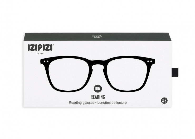READING GLASSES #E BLACK