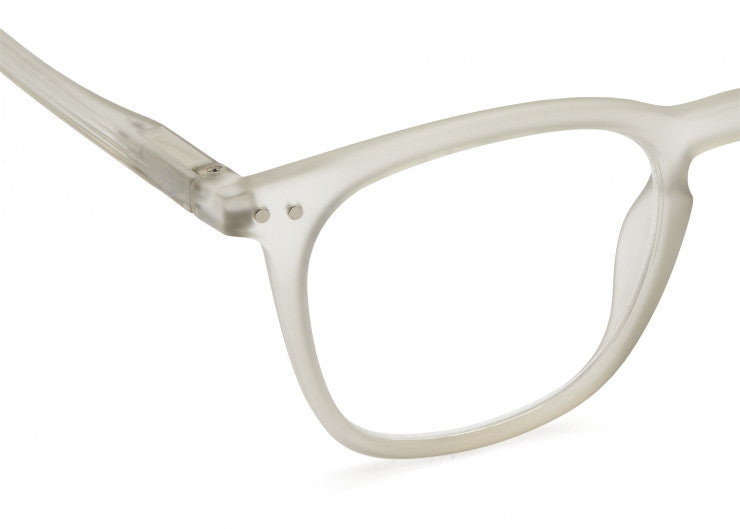 READING GLASSES #E DEFTY GREY
