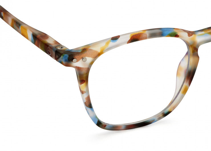 SCREEN GLASSES #E BLUE TORTOISE