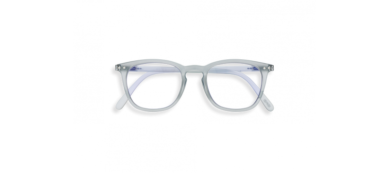 SCREEN GLASSES #E FROSTED BLUE