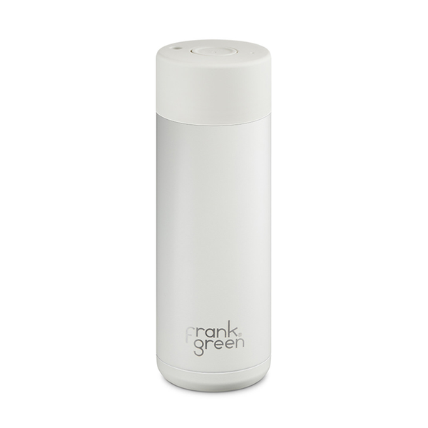 FRANK GREEN X ONE2ONE STUDIO Reusable Stainless Steel Bottle in Coconut White