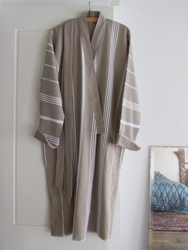 HAMMAM BATHROBE OLIVE GREEN