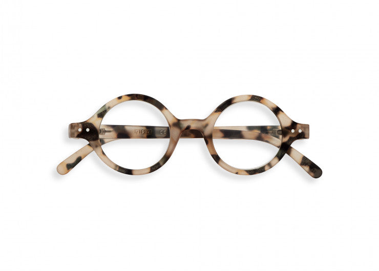 READING GLASSES #J LIGHT TORTOISE