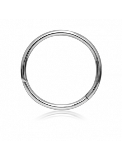 11mm PLAIN RING in White Gold