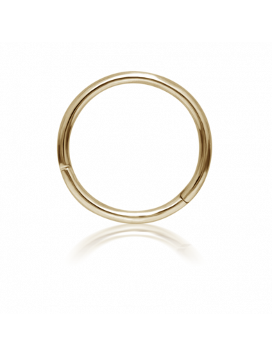 9.5mm PLAIN RING in Yellow Gold