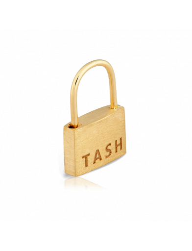 6.5mm PADLOCK CLICKER in Yellow Gold