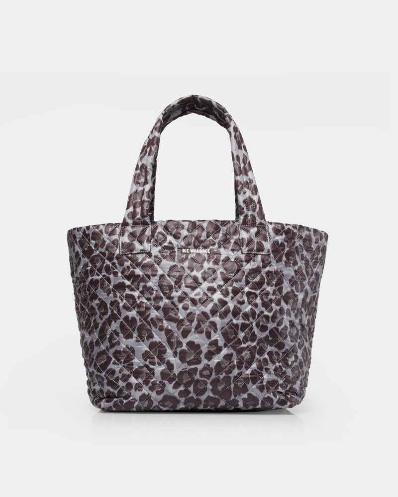 MEDIUM METRO TOTE in Magnet Leopard