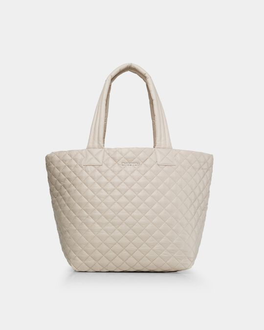MEDIUM METRO TOTE in Mushroom