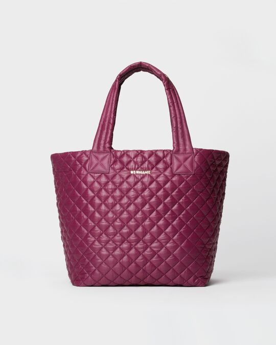 MEDIUM METRO TOTE in Wild Plum