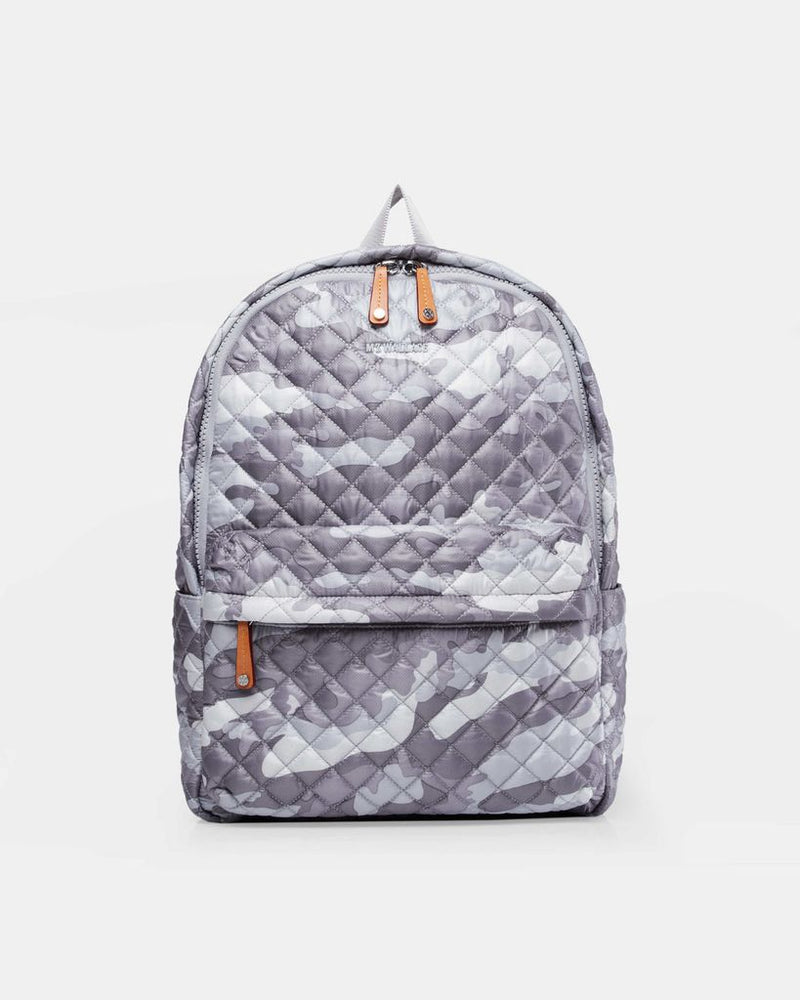 METRO BACKPACK in Light Grey Camo