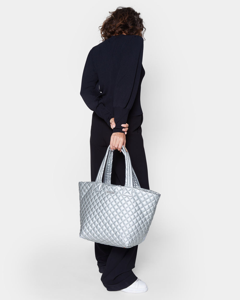 a39f7cf2081f MEDIUM METRO TOTE in Tin Metallic - ONE 2 ONE ONLINE