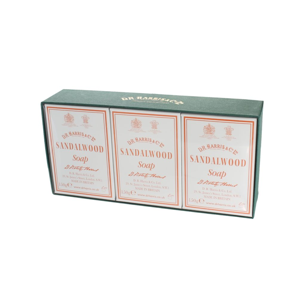 SANDALWOOD BATH SOAP 3* 150g PACK