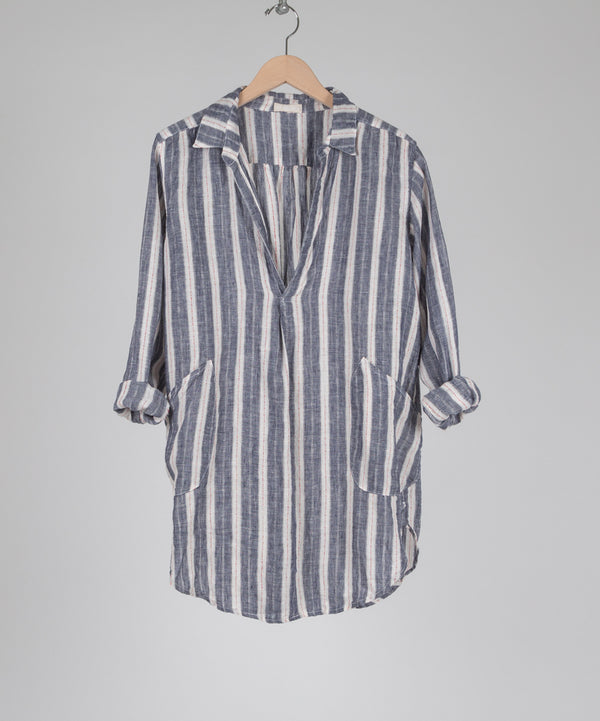 TETON LINEN TUNIC in SAIL