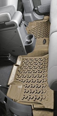 Rugged Ridge All Terrain Floor Mats (Rear)