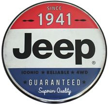 Since 1941 Jeep Tin Sign