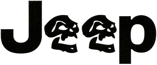 Jeep Skull Decal Pair
