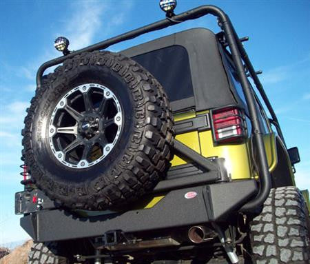 Body Armor Rear Bumper